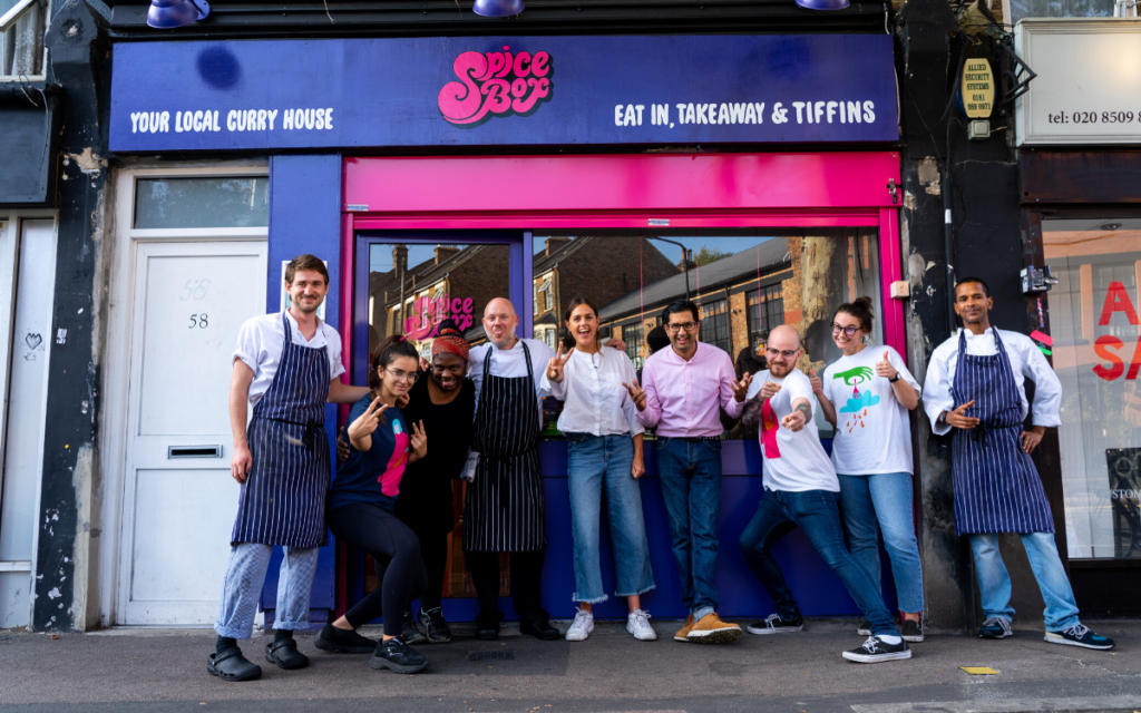 SpiceBox vegan curry house in London