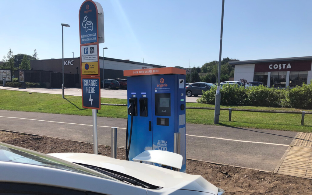engenie electric vehicle charging point