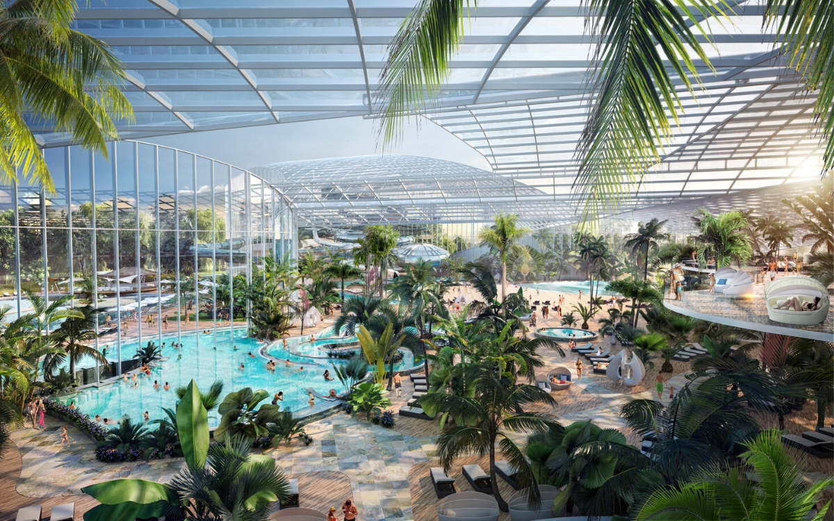 This is what a major wellbeing resort will look like