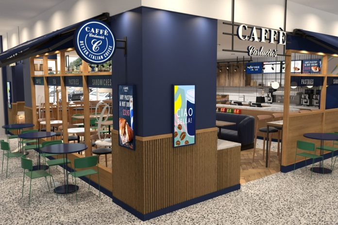 Sainsbury's partners with Carluccios